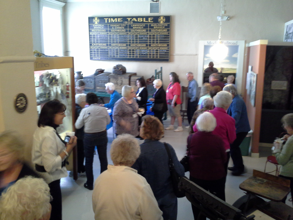 Touring the Old Depot Museum