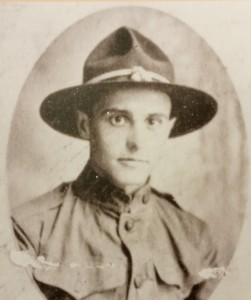 Warren C. Black was the first Franklin County soldier to die during WWI. The Warren C. Black American Legion Post #60 is named for him.