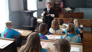 Travel in time through the One-Room School program at the Old Depot Museum.