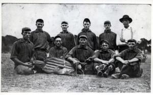 1911 LeLoup White Socks baseball team.
